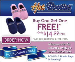 Hot Booties - Microwave Slippers